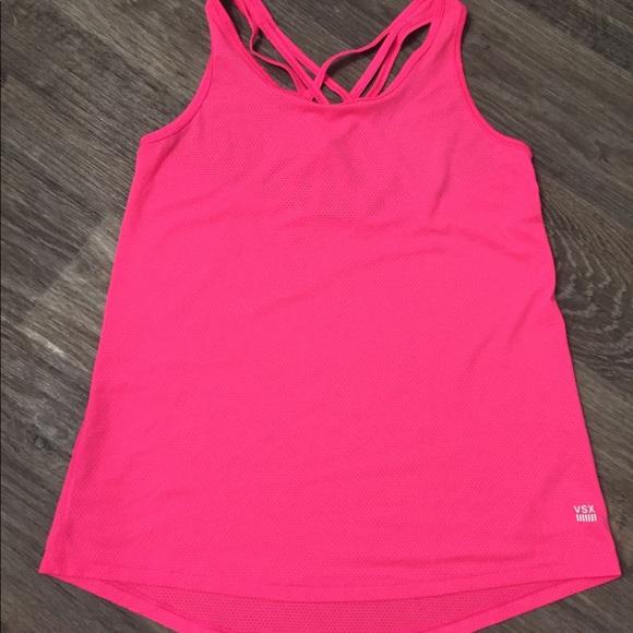 Victoria's Secret Tops - Victoria secret tank top hot pink NWOT